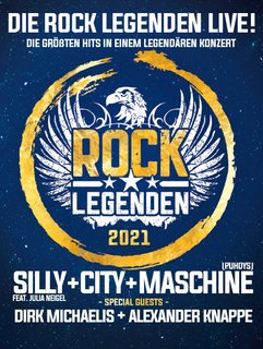 ROCK LEGENDEN Erfurt - SILLY + CITY + MASCHINE (PUHDYS) - Live 2021